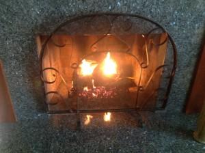 fire in grate