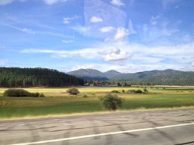 On the way to Missoula by NR